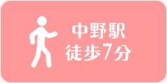 中野駅徒歩7分