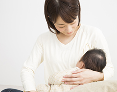 産後の親子